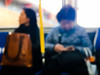 The New Commute (AAcerbo) Tags: muni publictransportation blur bokeh candid iphone iphoneography sanfrancisco california city urban