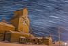 (hey ~ it's me lea) Tags: alberta mossleigh startrails stars night elevator prairie winter