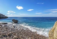 Caló des Grells (Malte Kopfer Photography) Tags: calódesgrells mallorca palma beach strand mediterranean spain mittelmeer insel island stones steinstrand felsen