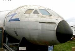XK695 Comet C Mk2, ex -Duxford cut up 1992 (kitmasterbloke) Tags: dehaviland museum londoncolney hertfordshire uk aviation wreck relic wr civil airliner jet comet