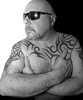 Black and White. . . (CWhatPhotos) Tags: design tattoos tattooed tattoo tatts tat tribal ink inked torso side body photographs photograph pics pictures pic picture image images foto fotos photography cwhatphotos that have which with contain mk digital camera lens micro four thirds penf me man male self portrait selfee selfie mine dark shadow light studio lights shadows hairy mood moody shades