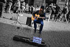 It's only rock n roll... (Yannis Raf) Tags: rome streetphotography street artist artistic canon6d ef24105mmf4 postprocess streetart