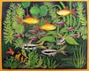 Aquarium (M.P.N.texan) Tags: paint painting fish aquarium acrylic acrylics tropicalfish original handpainted mpn