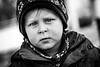 Skeptical (in explore 2018-02-27) (holgerreinert) Tags: bnw blackandwhite lumix guy kerl junge young boy youngboy child gx80 children 42 5 portrait face human skeptical