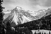 Arosa, Switzerland (romanboed) Tags: leica m 240 europe switzerland arosa alps mountains winter ski snow landscape alpine countryside monochrome black white bw summicron 28