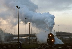 Wolsztyn PKP  |  1993 (keithwilde152) Tags: ol4959 wolsztyn wielkopolska pkp poland 1993 station passenger train tracks town steam locomotives outdoor spring