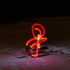 It Came from the Woods (Jan Zielinski) Tags: stickman austagder norway lightpaintingflash lightpainting m43 lumixlx100 nightphotography longexposure