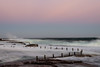 Magic Hour (tonyg1494) Tags: mahonrockpool magichour sydney australia rookpool sunset pinkhue sky wave ocean water photography