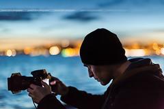 Self-Portrait ... (Yannick Lefevre) Tags: ©yannicklefevre||photography france alpesmaritimes cannes frenchriviera cotedazur portrait selfie night bokeh photographer