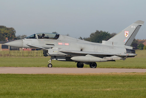 Eurofighter Typhoon T.3 'ZJ812 / 812'
