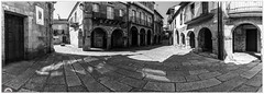 """""""Ribadavia en B&N"""" (Gerkraus) Tags: galicia spain panoramica ribadavia"""