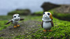 ... (3rd-Rate Photography) Tags: porg porgs starwars thelastjedi ahchto funko funkopop toy toyphotography canon 50mm 5dmarkiii alge rock river bird scifi jacksonville florida 3rdratephotography earlware 365