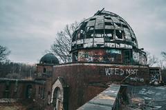 Abandoned Observatory (rantropolis) Tags: abandoned urbex urbanexploration observatory cleveland warner swasey nikon travel adventure