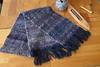 28336217_1761778797195340_2726465101586597335_o (daviemoran1) Tags: handwoven scarf wool silk handspun craft weaving scottish blue purple shuttle handmade