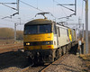 90s (Treflyn) Tags: freightliner class 90 skoda 90048 90042 speed tamworth low level daventry coatbridge container train