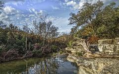 Antonym Day (keith_shuley) Tags: winter sun sunny blue bullcreek creek stream austin texas texashillcountry