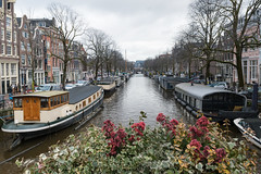 Beautiful channels in Amsterdam