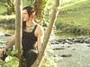By the lake (karinanovak) Tags: germany lake tattoo staufen medieval festival trees september long hair snake
