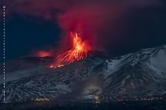 Eruzione al cratere di Sudest dell'Etna (Fabrizio Zuccarello) Tags: etna sicily sicilia volcanoes vulcani italy italia nature natura geology geologia eruption eruzione