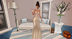 Date (kare Karas) Tags: woman lady femme girl girly elegance chic date indoors house city event beauty sensual pretty cute sexy gown jewelry hair mesh colors hud virtual avatar secondlife designs january flowerdreams firelight chopzueyjewelry tresbeaumaison 68mainevent
