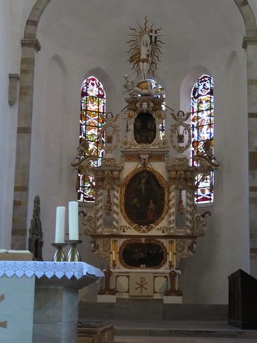 20170528 01 178 Regia Merseburg Dom Altar Chorgestühl