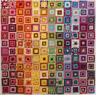 Rainbow Squares - Layout #1