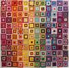 Rainbow Squares - Layout #1 (Lisa-S) Tags: 8876 brampton ontario canada quilt quilting rainbow concentric squares squareinsquare