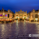 The amazingly beautiful and impressive Place in Nancy at night thumbnail
