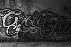 Garazi 2.0. - 51 (Lt. Sweeney) Tags: grafiti sombra luz shadow iluminaciónnatural luzlateral sinflash sincolor mono monochrome monocromo monocromático desaturado teenager femmefatale femenina femme female chica girl gorgeous pretty joli beau beautiful encuadrehorizontal composición compo composition belle bella belleza actitud pose fashion fashionshot fashionphotography model modeling modella modelo book reportaje sesiónfotográfica localización abandono abandonado location lugar gente adobephotoshopcc canon