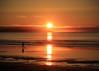Carry On (Patricia McAtee - Photos of Maine) Tags: sunrise shore beachwalk ocean reflection alone morning seascape serene