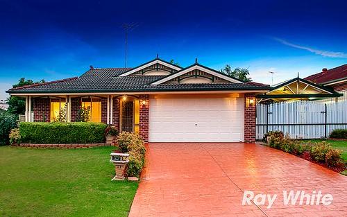 14 Crestview Av, Kellyville NSW 2155