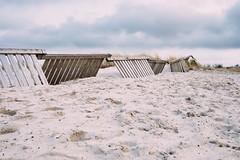 - (MobilShots) Tags: blende1net patrickgorden beach fotografhamburg fuji fujifilm laboe ostsee outdoor sand strand urban water xt1 fence clouds nature