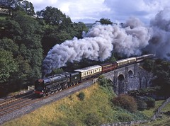 """The Pheonix Rises! (The """"8A Rail"""" Collection) Tags: 71000 dukeofgloucester sherriffsbrow stainforth sc thamesclydeexpress"""