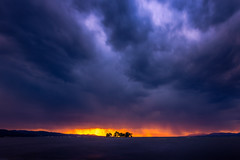 sunset 2290 (junjiaoyama) Tags: japan sunset sky light cloud weather landscape purple orange yellow blue contrast color bright lake island water nature autumn fall storm