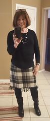 New Skirt (krislagreen) Tags: tg transgender transvestite cd crossdresser skirt tights boots femminzation femininized femme