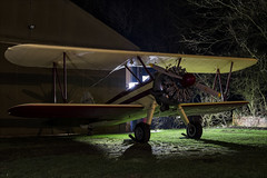 Boeing PT-17 Kaydet - 10 (NickJ 1972) Tags: spanhoe airfield photoshoot nightshoot shoot photo photocall night threshold aero aviation 2018 boeing stearman pt17 kaydet garoy