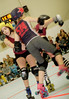 123 (Bawdy Czech) Tags: lcrd lava city roller dolls cinder kittens cherry bomb brawlers skate rollerskate bout bend oregon or february 2018 juniorderby juniors rollerderby lavacityrollerdolls