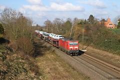 143 651 (Drehstromkutscher) Tags: db deutsche bahn cargo dr reichsbahn br baureihe 143 243 eisenbahn railway railfanning railways railroad train trainspotting trains güterzug ddr gdr zug