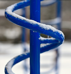 Play, Grounded (DaveLawler) Tags: playground snow snowfall grounded play elmpark worcester weather