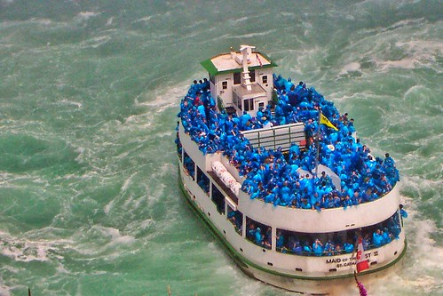 Niagara Falls  Ontario  ~ Canada ~ Maid of The Mist ~ Classic Shot