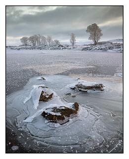 Frozen Loch Ba