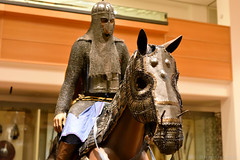 Mughal Heavy Cavalryman (Bri_J) Tags: royalarmouries leeds westyorkshire uk museum militarymuseum yorkshire nikon d7200 mughal heavycavalryman cavalry knight mountedknight armour horse indianarmour