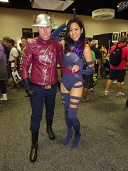 The Flash and Psylocke (Sconderson Cosplay) Tags: comic con san diego sdcc 2016 flash jay garrick hunter zolomon earth2 cosplay psylocke