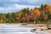 (Clint Everett) Tags: fall autumn foliage cloudy grey cold romantic lake shore lakemichigan upperpeninsula up nature couple pair sony gloomy vibrant