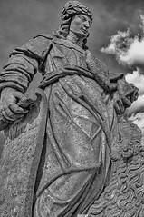 Prophet #1 (Enio Godoy - www.picturecumlux.com.br) Tags: niksoftware bluesky minasgerais nikon texture stonesoape nikond300s brazil sculpture sky details silverefexpro2 viveza2229133520962328 workofaleijadinho congonhas