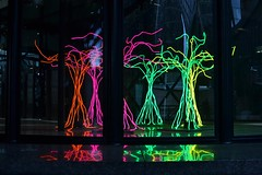 2017-12-16: Indoor Trees (psyxjaw) Tags: london londonist christmas december light art sculpture broadgate exchangesquare trees glow colours