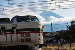 Mt. Fuji / Fujiyama / 富士山 (hiroshiken) Tags: fujikawaguchikomachi yamanashiken 日本 jp 20171215 kawaguchiko 河口湖 mountain fuji fujiyama station
