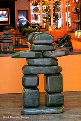 Greenstone Block Sculpture, Victoria, British Columbia, Canada (Black Diamond Images) Tags: greenstone blocksculpture sculpture victoria britishcolumbia canada rockart