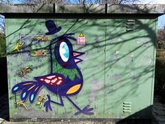 Jaune & Bué the Warrior / Oostende - 11 feb 2018 (Ferdinand 'Ferre' Feys) Tags: belgium belgique belgië streetart artdelarue graffitiart graffiti graff urbanart urbanarte arteurbano ferdinandfeys ostend oostende jaune bue buéthewarrior bué