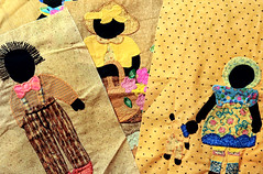52 in 2018 Challenge - #9 - Something that begins with Q (crafty1tutu (Ann)) Tags: challenge 52in2018challenge 9somethingthatbeginswithq quilt patchwork applique handmade material fabric cotton handsewn embroidery crafty1tutu canon7dmkii canon60mmefs28macrolens anncameron